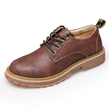 Hommes& Chaussures& Oxfords& d'escalade& en& cuir respirant