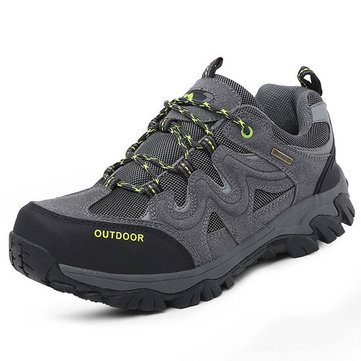 Big& Size& Hommes& Confortable& Wear& Resistant Outsole Outdoor Hiking Athletic Shoes