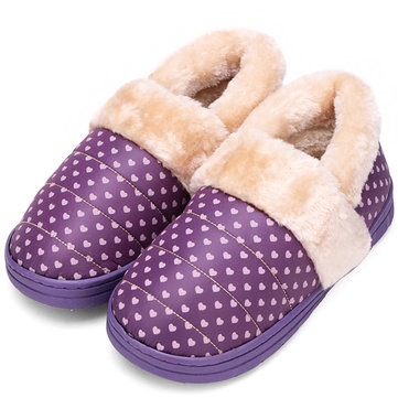 Coton des femmes à l'intérieur de la maison dot antidérapantes proches pantoufles orteil&
